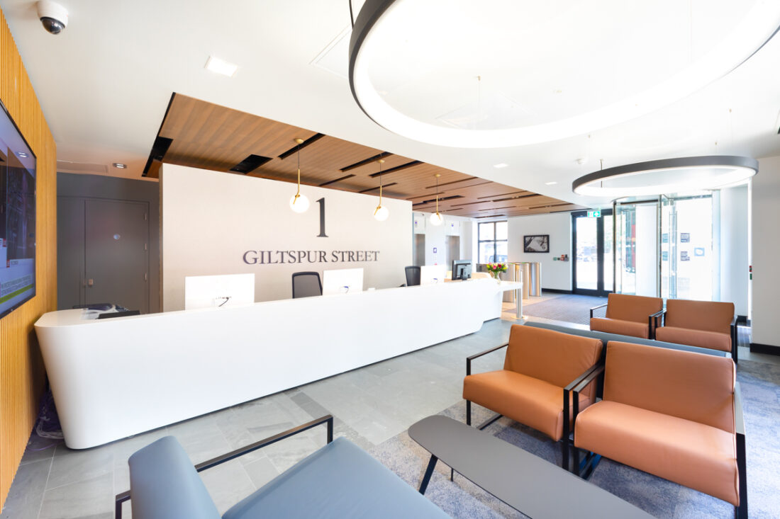 Farringdon Office Space, Giltspur Street Image