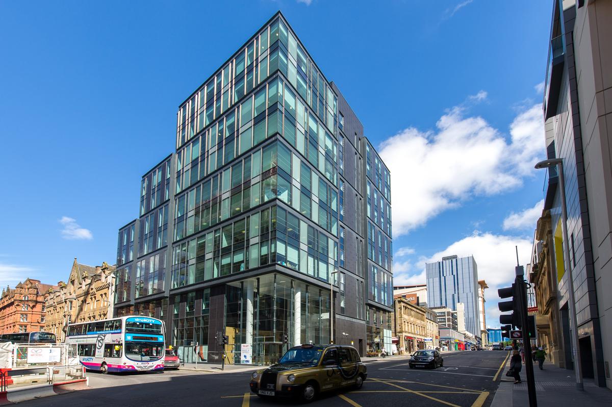 Landmark - Glasgow City Centre - Serviced Office Space View