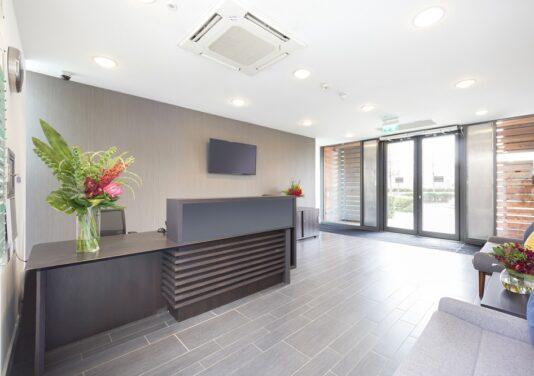 Milton keynes central service office reception