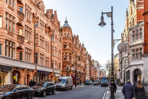 buildings on mayfair street