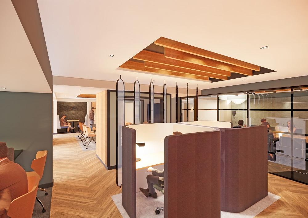 Landmark office private area