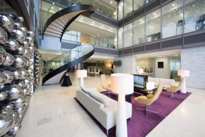110 Bishopsgate heron tower office reception