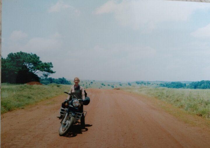 Jacqui Furneaux in Cambodia
