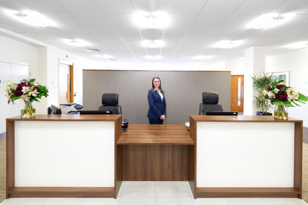 milton keynes pinnacle office reception