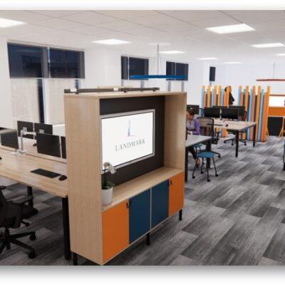 landmark office space agile walkthrough 05