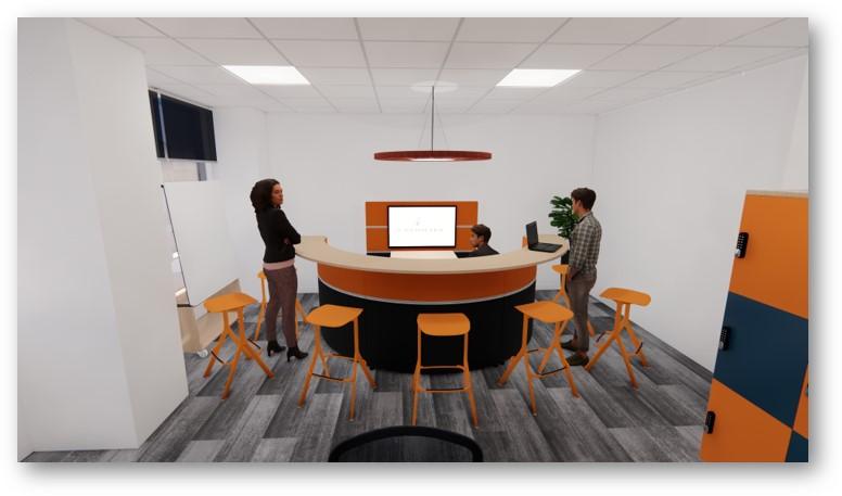 landmark office space agile walkthrough 04