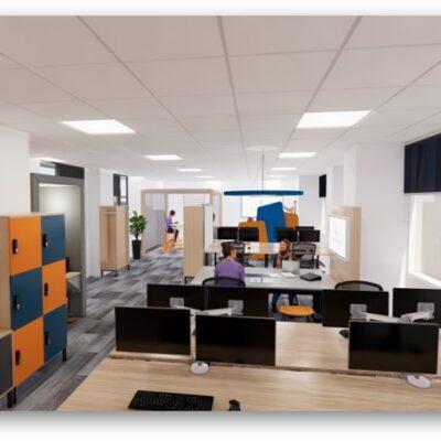 landmark office space agile walkthrough 03