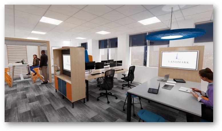 landmark office space agile walkthrough 02