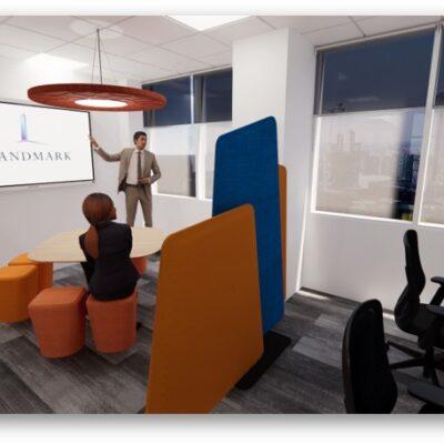 landmark office space agile walkthrough 01
